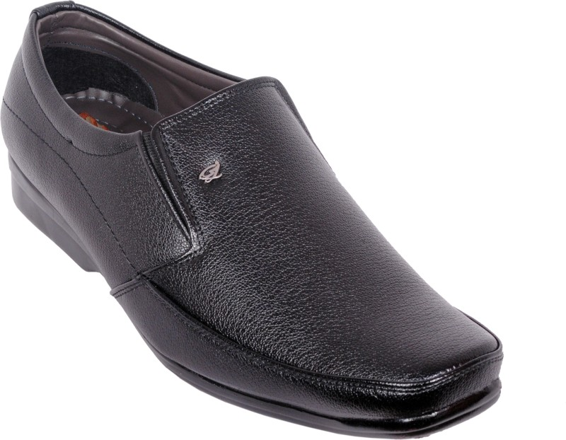 Fentacia Tips Slip On Shoes For Men(Black)