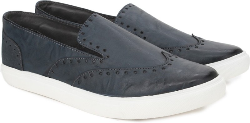 Knotty Derby Lockhart Brogue Loafer Sneakers For Men(Navy)