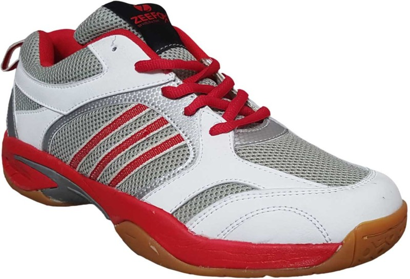Zeefox 3300FRW Badminton Shoes For Men(White)
