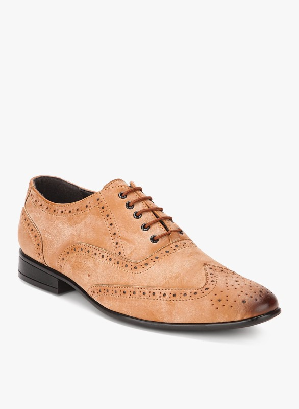 San Frissco EC 3503 Lace Up For Men(Tan)