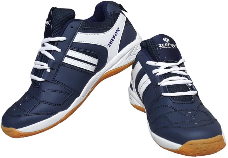 Zeefox RYDER Badminton Shoes For Men(Blue)
