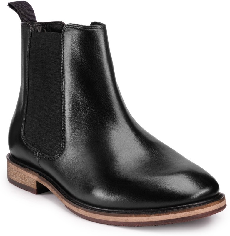 Teakwood Boots For Men(Black)