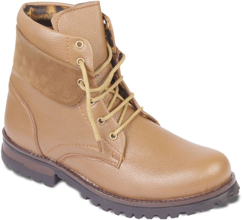 TEN Stylish And Elegant Boots For Men(Tan)