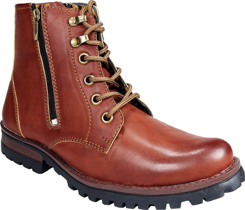 Bacca Bucci 8000 Boots For Men(Brown)