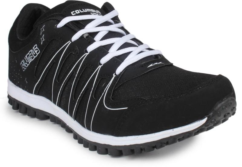 Columbus Running Shoes(White, Black)