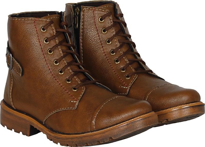 Kraasa Swiss Rock Boots, Outdoors(Brown)