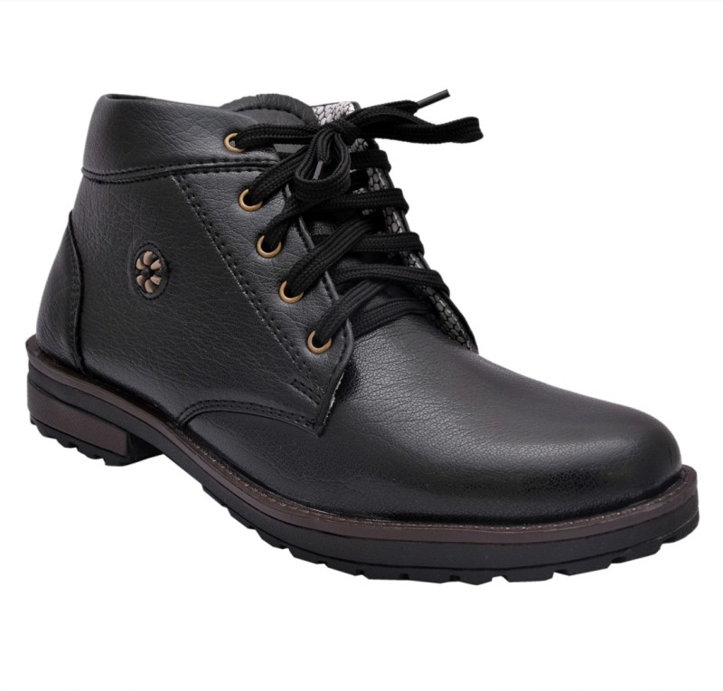 Sir Corbett Exposure D Boots For Men(Black)