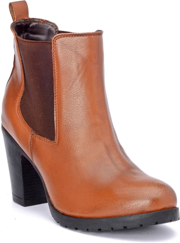 Bruno Manetti JD-150 Boots For Women(Tan)