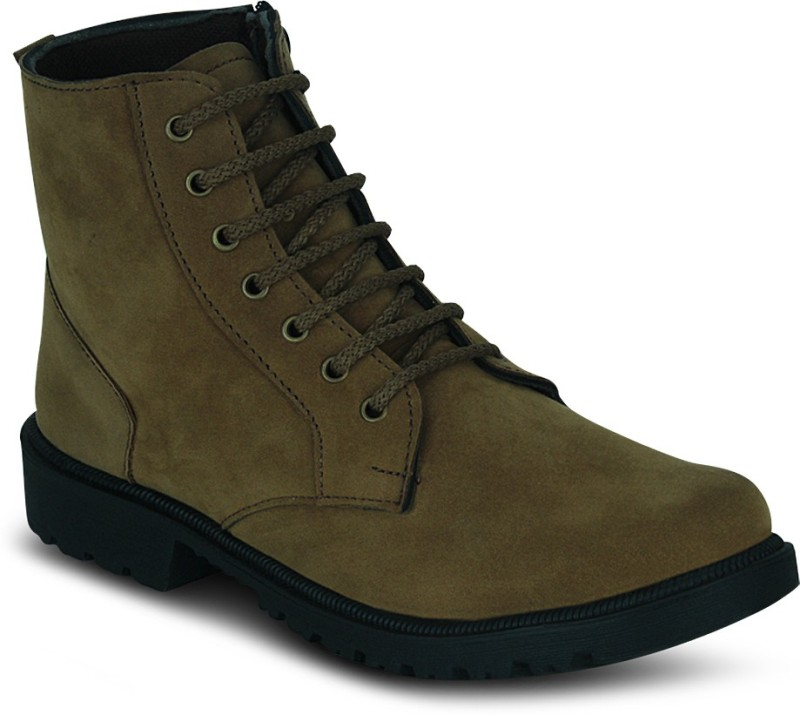 Kielz Gents Footwear Boots For Men(Beige)