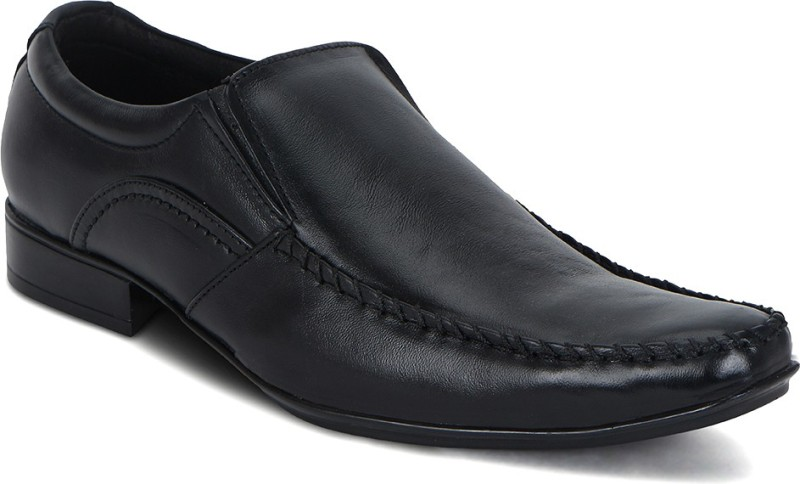 Kielz Slip On Shoes For Men(Black)