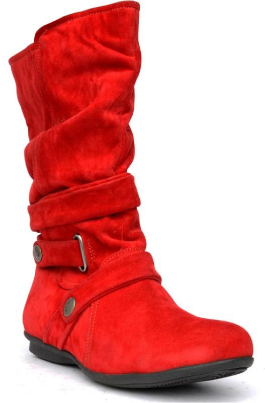 Bruno Manetti Balbina Women's Boots For Women(40, Red) image