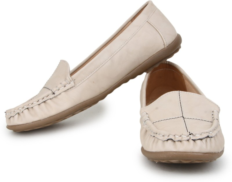 Naisha Loafers For Women(White)