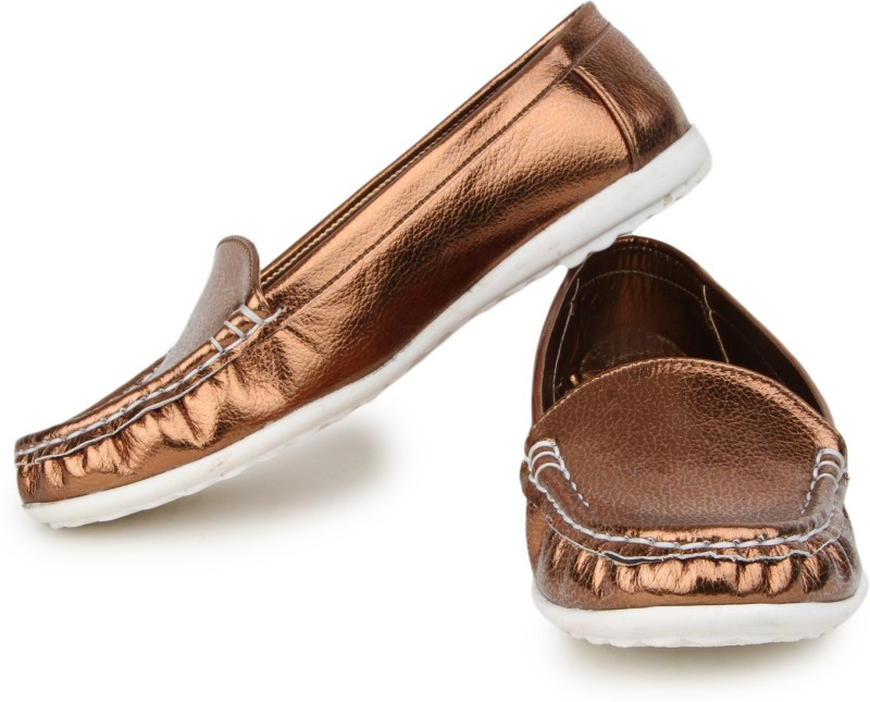 Naisha Loafers For Women(Brown)