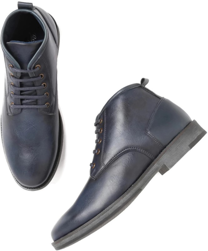 Roadster Boots For Men(Navy)