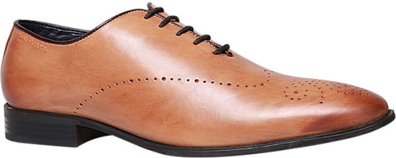 Hush Puppies By Bata Lace Up For Men(Tan)