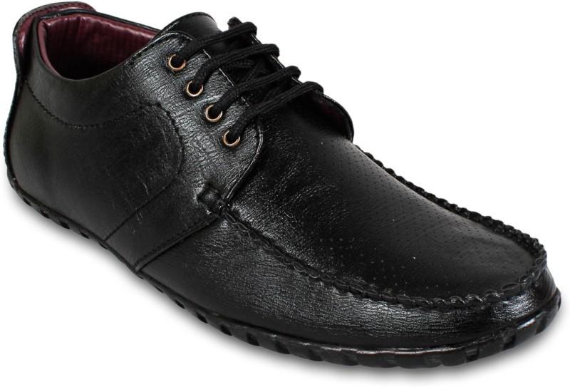 Adreno Lace Up Shoes(Black)