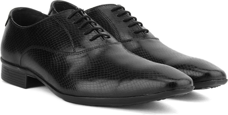 Knotty Derby Oxford Lace up For Men(Black)