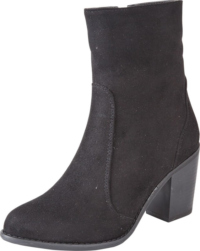 Truffle Collection Boots For Women(Black)