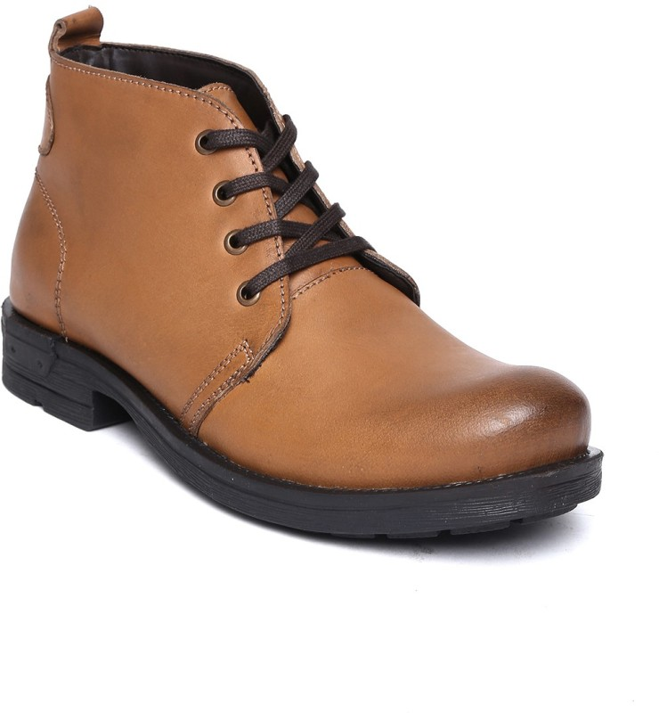 Roadster Premium Boots For Men(Tan)