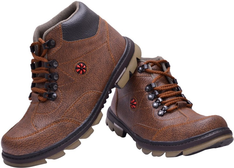 Prolific X-Power Sole Boots For Men(Brown)