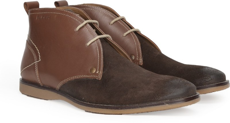 Ruosh Boots For Men(Brown)