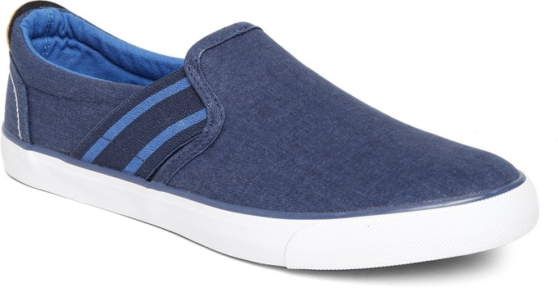 Roadster Loafers For Men(Blue)