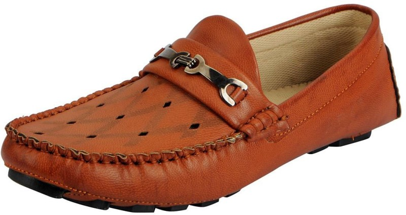 FAUSTO Loafers For Men(Tan)