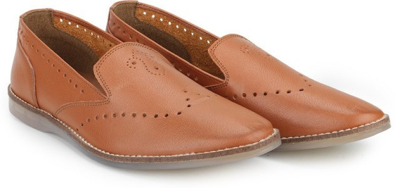 Knotty Derby Ollivander Slip On(Tan)