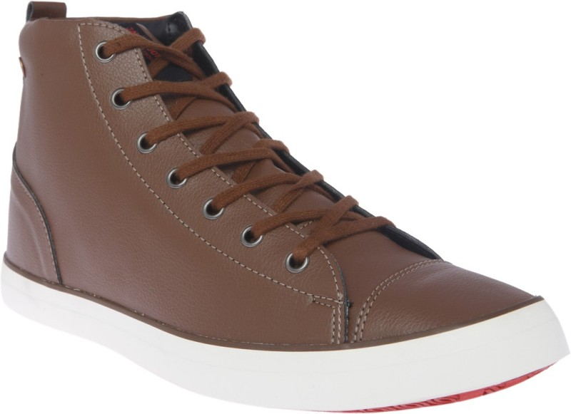 Jack & Jones Canvas Shoes For Men(Brown)
