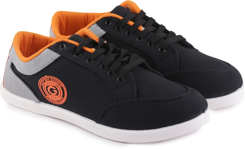 Globalite Stumble Casuals(Black, Grey, Orange)