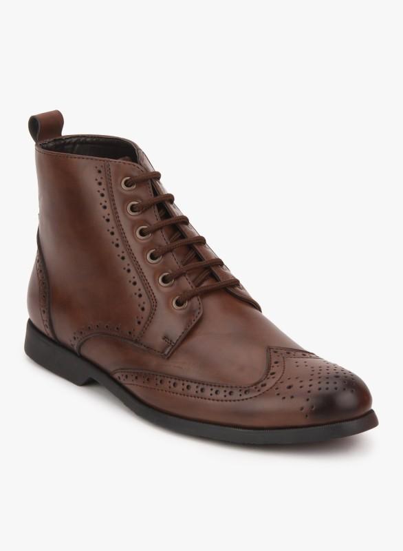 San Frissco Boots For Men(Brown)