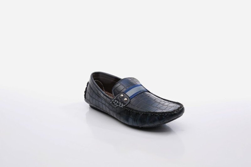 Bacca Bucci Exquisite Loafers For Men(Blue)