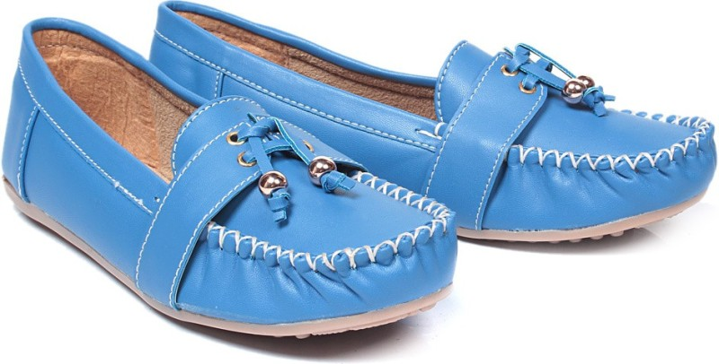 Bare Soles Loafers For Women(Blue)
