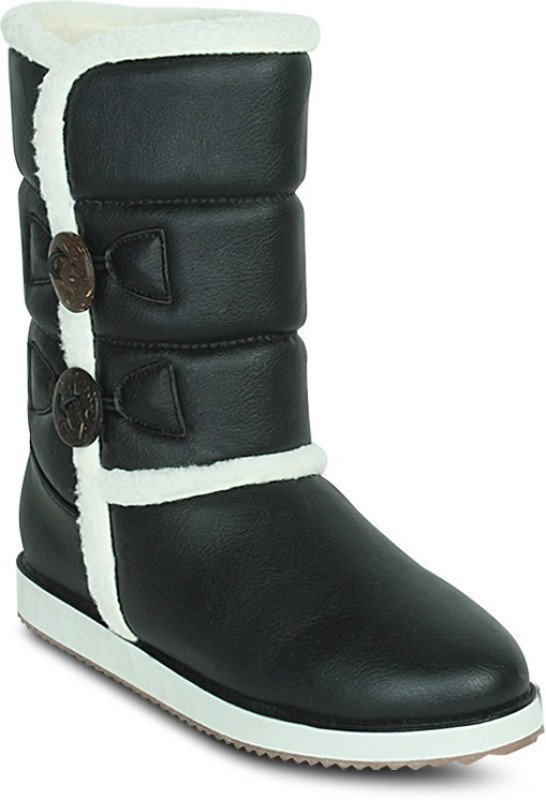 Get Glamr Designer Uggy Boots For Women(Black)