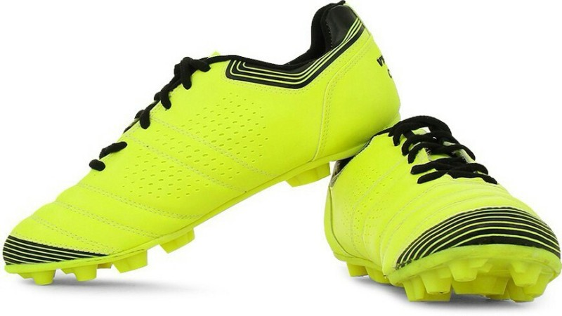 Vector X Women's Football Shoes For Women(2, Green, Black) image