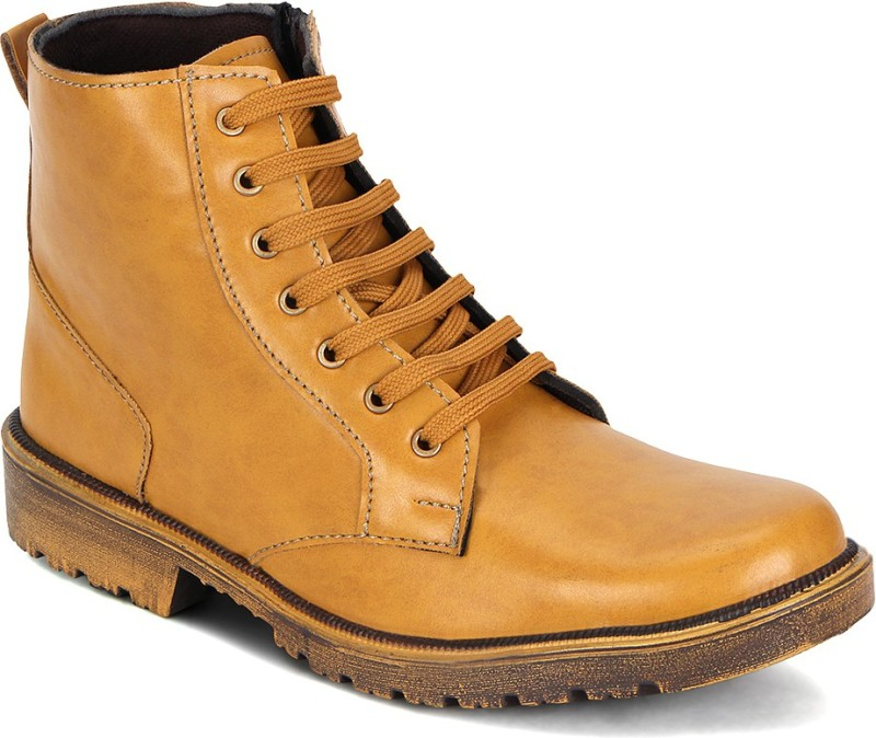 Kielz Boots For Men(Tan)