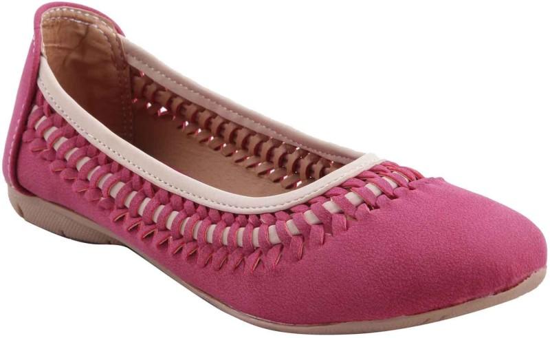Adorn Elegant Bellies For Women(Pink)