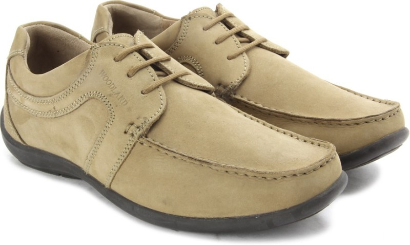 Woodland Men Corporate Casuals For Men(Tan)
