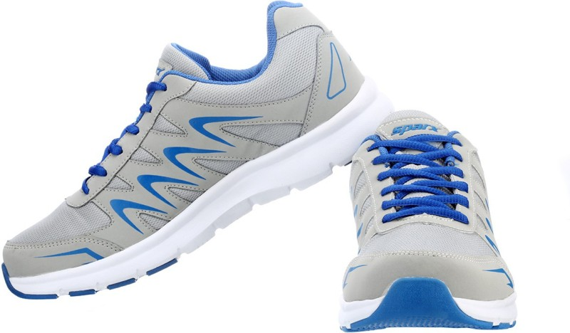 Sparx Running Shoes(Grey, Blue)