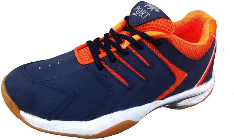 Port Running Shoes For Men(Blue, Orange)