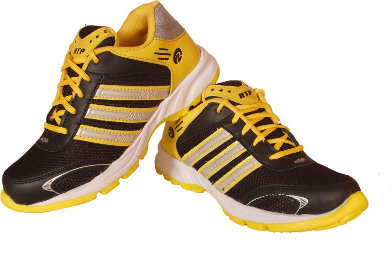 Delux Look Cricket Shoes For Men(Yellow)