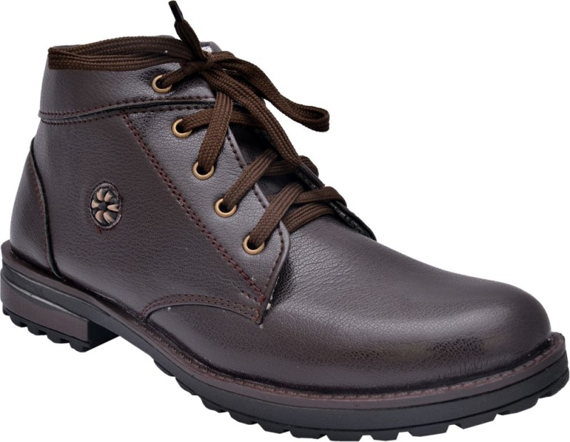 Sir Corbett Exposure D Boots For Men(Brown)
