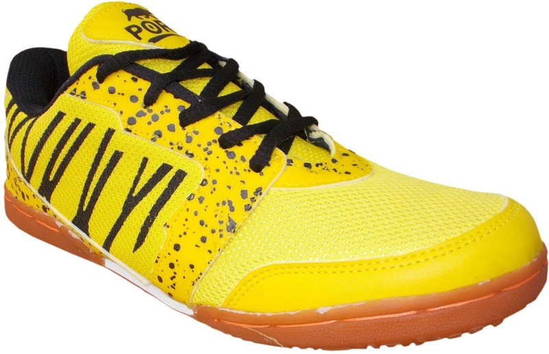Port Z-501 Badminton Shoes For Women(Yellow)