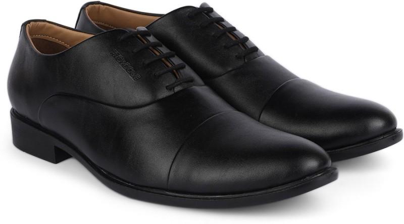 Provogue Lace Up Shoes For Men(Black)
