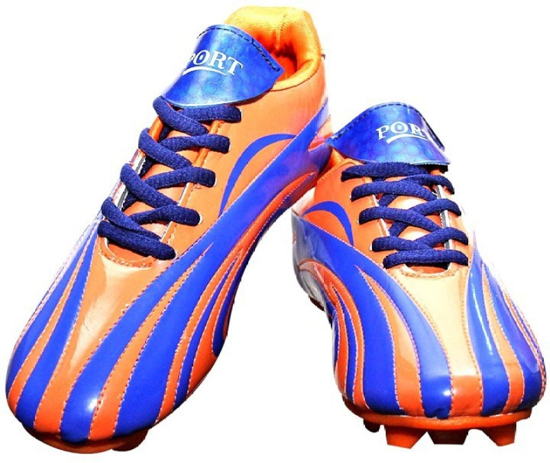 Port Orange Women's Football Shoes Women's Football Shoes For Women(3, Orange) image