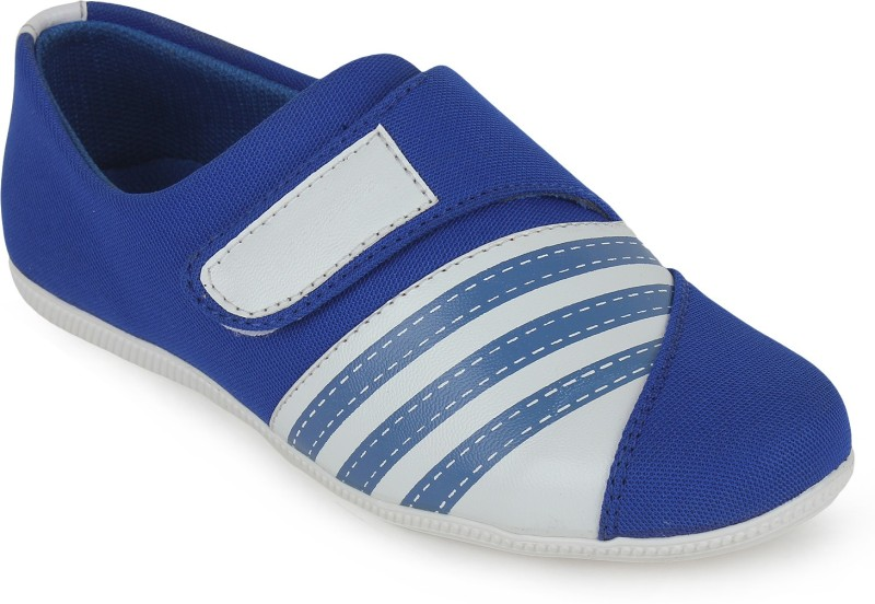 Scantia Loafers(Blue, White)