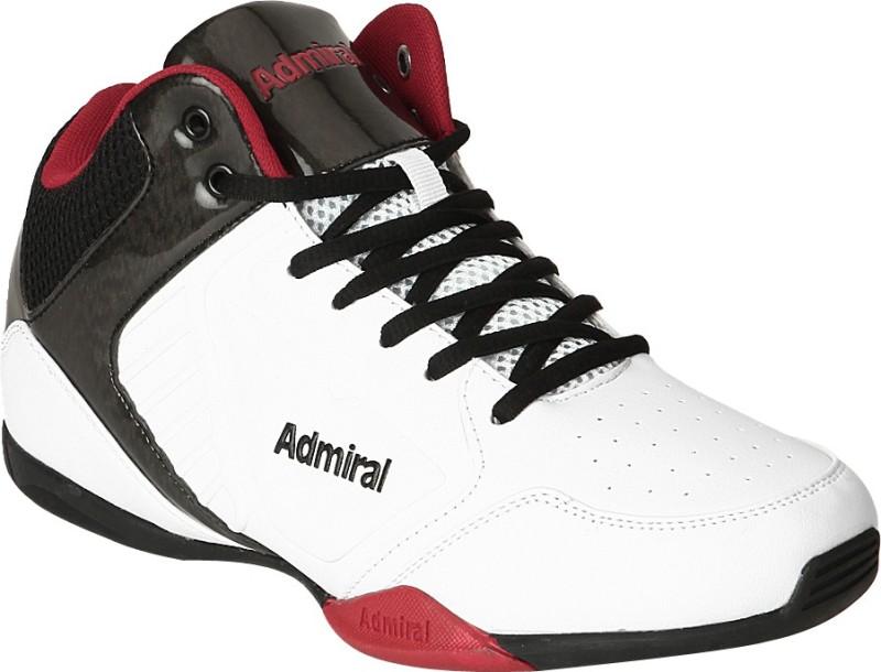 Admiral Karl Basketball Shoes For Men(White)