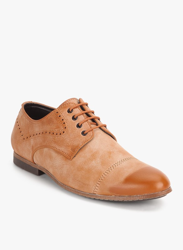 San Frissco EC 6550 Lace Up For Men(Tan)