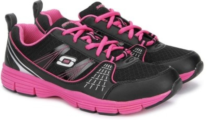 Skechers UNINTERRUPTED Running ShoesPink Black