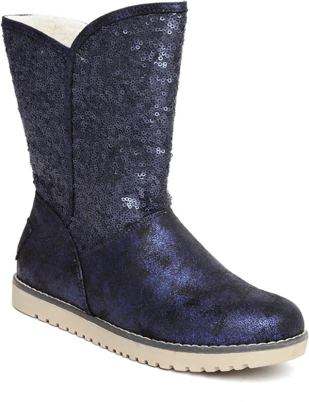 Roadster Boots For Women(Navy)